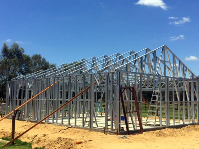 Action Framing Steel Frame Homes Buidling Frame