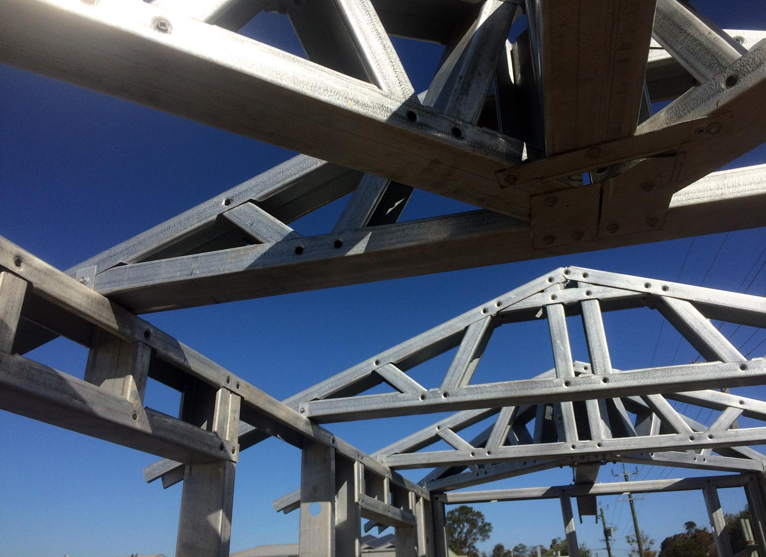 Action Framing Steel Frame Homes Homepage Background