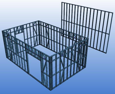 Action Framing Solution Steel Frame Homes Perth Drafting Services