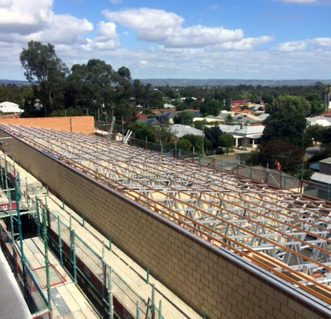 Action Framing Solution Steel Frame Homes Perth Steel Roof Trusses 2